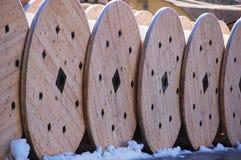 De trommels van de kabel Royalty-vrije Stock Foto's