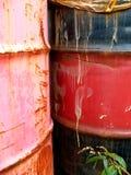 De Trommels van de olie Royalty-vrije Stock Foto