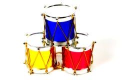 De Trommels van Kerstmis royalty-vrije stock afbeelding