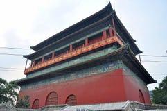 De Trommeltoren van Peking, China Royalty-vrije Stock Foto's