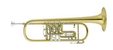 De trompet van het overleg Stock Foto's