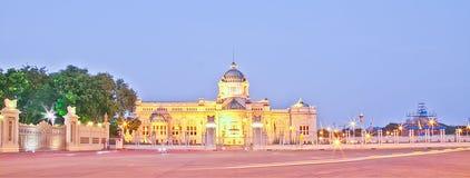 De Troon Hall In Dusit Palace van Anantasamakhom Royalty-vrije Stock Foto