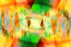 De tropische Achtergrond van de Kleur stock illustratie