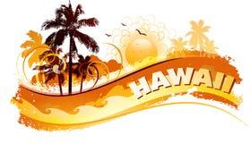 De tropische achtergrond van Hawaï Royalty-vrije Stock Foto
