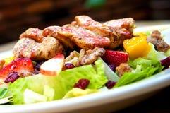De tropische Salade van de Kip van de Amerikaanse veenbes Stock Afbeeldingen