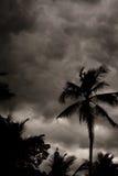 De tropische Stormachtige Hemel van de Moesson royalty-vrije stock afbeeldingen