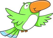De tropische Vector van de Vogel stock illustratie