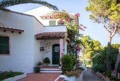 De tropische villa van de luxe stock fotografie