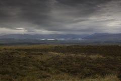 De Trossach-bergketen en Loch Lomond royalty-vrije stock afbeelding