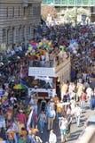 De trots 2009, mensen van Rome Royalty-vrije Stock Foto's