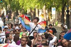 De trots 2011 van Boedapest Stock Afbeelding