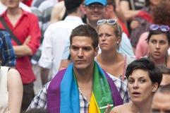 De trots 2011 van Boedapest Stock Fotografie