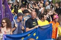 De trots 2011 van Boedapest Stock Foto