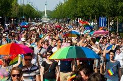 De Trots 2012 van Boedapest Royalty-vrije Stock Afbeeldingen
