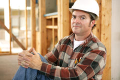 De Trots van bouwvakkers Stock Afbeeldingen