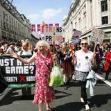 2013, de Trots van Londen Stock Foto's