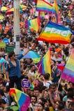 De Trotsparade van Istanboel LGBT Stock Afbeeldingen