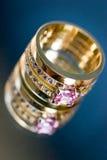 De trouwring van de bruid Royalty-vrije Stock Afbeelding