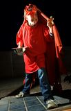 De Truc van Halloween of behandelt Jong geitje Royalty-vrije Stock Foto