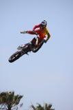 De Trucs van de motocrossgebeurtenis stock foto's