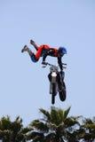 De Trucs van de motocrossgebeurtenis stock afbeeldingen