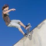 De trucs van het skateboard Stock Foto
