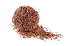 De truffel van de chocolade Royalty-vrije Stock Foto
