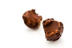 De truffel van de chocolade Stock Afbeelding