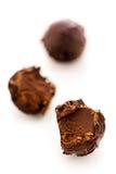 De truffel van de chocolade Stock Fotografie
