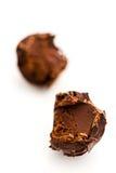 De truffel van de chocolade Royalty-vrije Stock Afbeeldingen