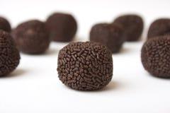 De truffels van de chocolade Stock Afbeelding