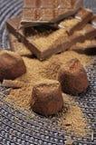 De truffels van de chocolade Royalty-vrije Stock Fotografie