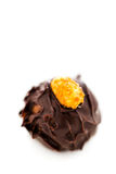 De truffels van de chocolade Stock Foto