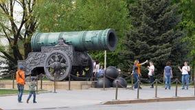 De Tsaarkanon van Moskou royalty-vrije stock fotografie