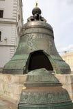 De Tsaarklok is een monument in Moskou het Kremlin Stock Afbeeldingen