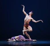 De Tsjechische Nationale het balletgroep van het Theater royalty-vrije stock afbeelding