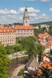 De Tsjechische Republiek van Ceskykrumlov Royalty-vrije Stock Foto