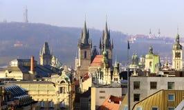 De Tsjechische Republiek van Praag Stock Foto's