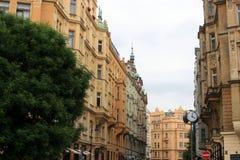 De Tsjechische Republiek van Praag Stock Afbeeldingen