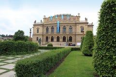 De Tsjechische republiek van Rudolfinum Praag Stock Fotografie