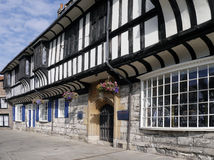 De Tudorbouw in York Stock Fotografie