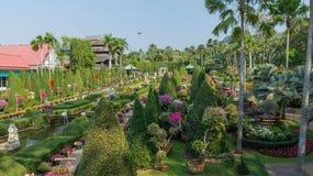 De tuin enamoured van de Tropische Tuin Thailand van parknong Nooch Royalty-vrije Stock Foto