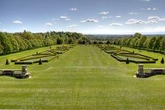 De tuin Engeland van Cliveden Stock Afbeelding