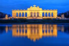 De Tuin Gloriette, Wenen, Wenen van het Schobrunnpaleis Royalty-vrije Stock Foto's