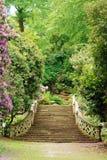 De tuin hever kasteel Engeland van Anne Boleyn royalty-vrije stock afbeelding
