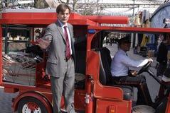 DE TUIN TIVOLI CEO VAN DENEMARKEN LARS LIEBST Royalty-vrije Stock Foto's