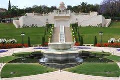 De tuin van Bahai royalty-vrije stock afbeeldingen