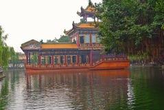 De Tuin van Baomo wordt gevestigd in Zini Dorp, China Stock Afbeelding