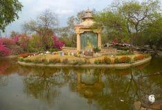 De Tuin van Boedha, New Delhi Royalty-vrije Stock Fotografie