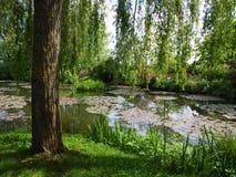 De tuin van Claude Monet `s Royalty-vrije Stock Foto's